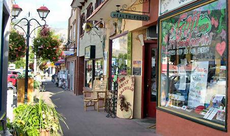 Osoyoos British Columbia Shopping Go Northwest A Travel