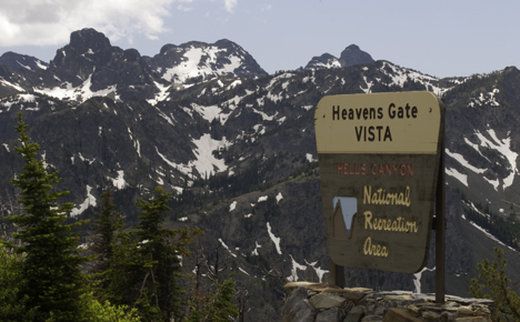 Heavens Gate Vista In Hells Canyon Go Northwest A
