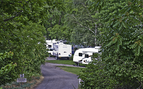Campground In Riggins