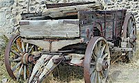 Virginia City Montana antique wagon