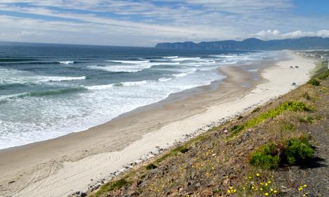 Cape Kiwanda State Park beach