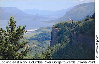 Columbia River Gorge and Crown Point