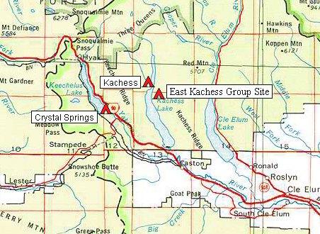Map For I 90 Corridor Go Northwest A Travel Guide