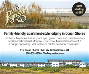 The Polynesian Resort in Ocean Shores