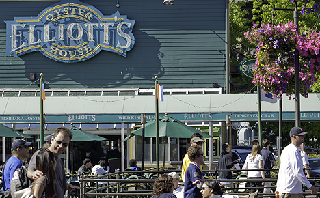 Elliott S Oyster House On The Seattle Waterfront