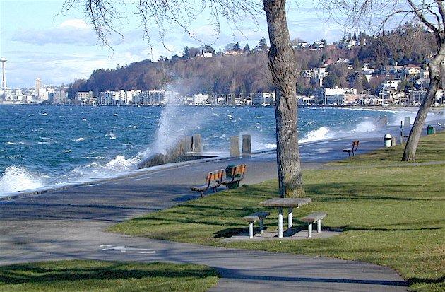 Alki Beach Park Viewpoints In Seattle