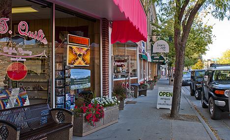 Buffalo Wyoming Shopping Go Northwest A Travel Guide