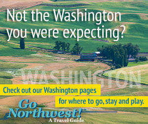 Go Northwest travel guide to Washington, the Evergreen State.