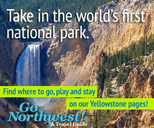 Yellowstone National Park GoNorthwest travel guide.