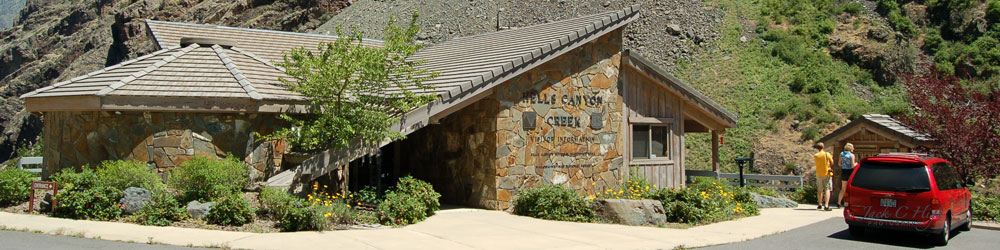 Hell Canyon Creek Visitor Information Center
