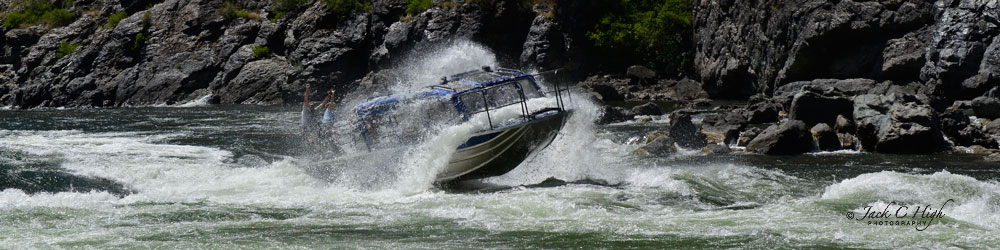 What a blast on a jet boat ride through Hells Canyon.