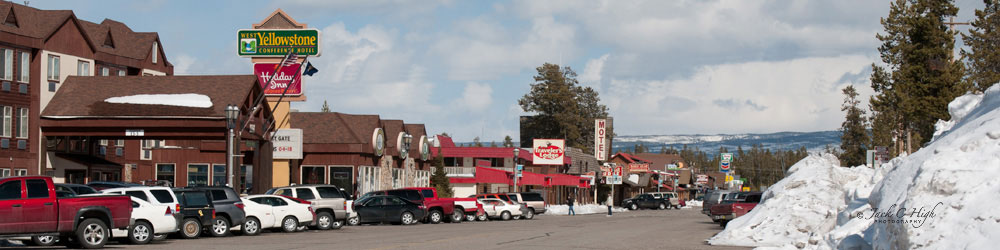 Hotels and motels in West Yellowstone