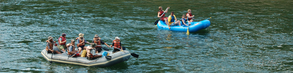 Clark Fork River rafters