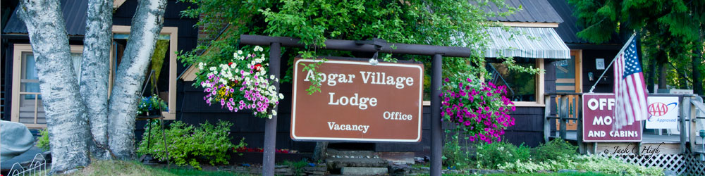 Apgar Village Lodge inside Glacier National Park