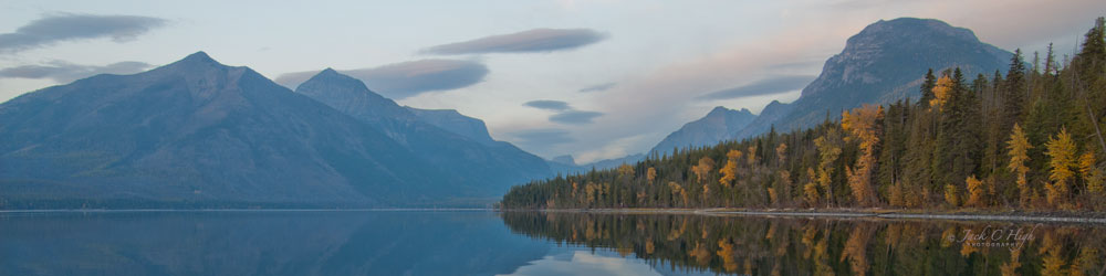 Scenic vista of Lake McDonald