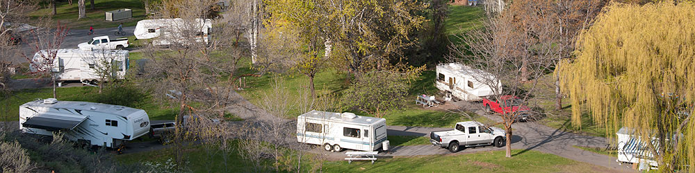 RV park in Winthrop