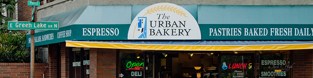 The Urban Bakery in Green Lake neighborhood, Seattle