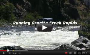 Running Granite Creek Rapids in a Jet Boat Video
