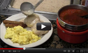 Icicle Village Resort Breakfast Buffet Video